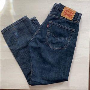 LEVI's 505 MEN's CLASSIC STRAIGHT LEG JEANS 32x30